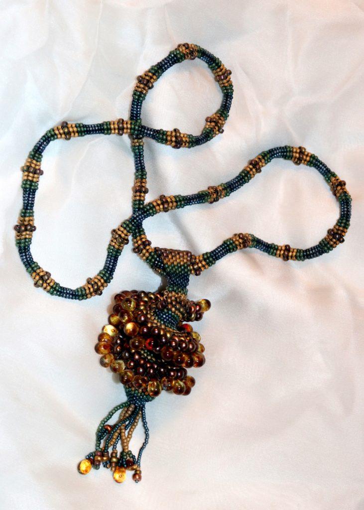 Cellini Spiral Pendant Necklace