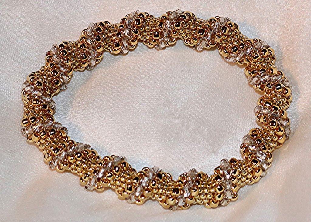 Gold Cellini Spiral Bangle Bracelet
