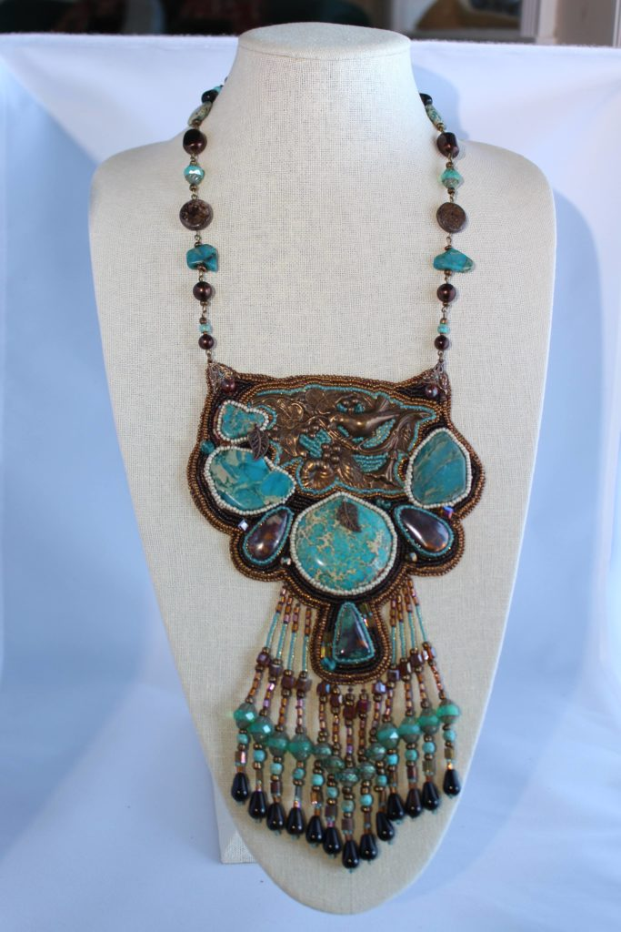Laura Lee Ullrich Turquoise Necklace