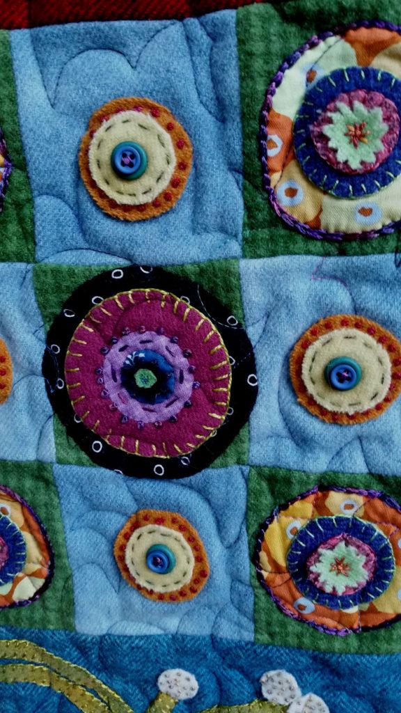 Ginger Grove Quilt detail 1