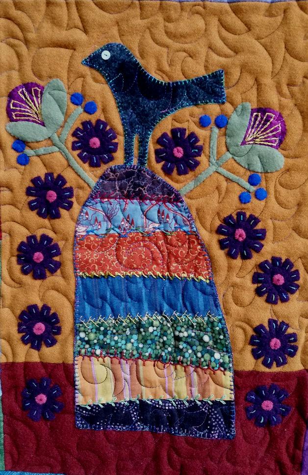 Ginger Grove quilt detail 3