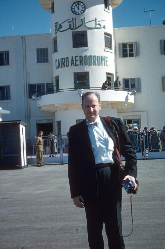 Herb Hand at Cairo Airport