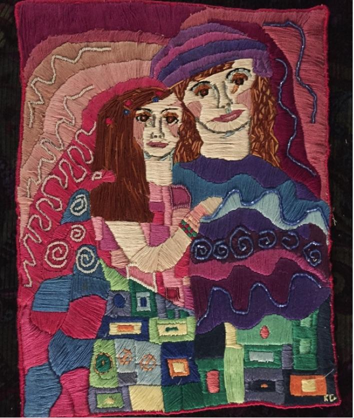 Karen Payton's first quilt