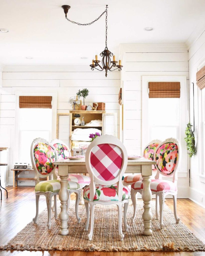 Unique custom dining room chairs