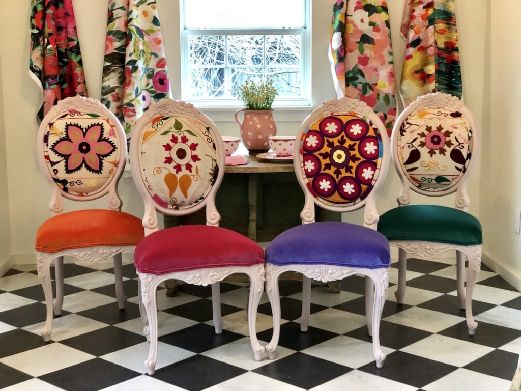 Custom designed dining chairs