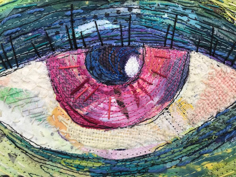 Eye Contact detail by Libby Williamson