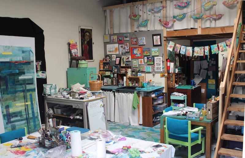 Libby Williamson studio