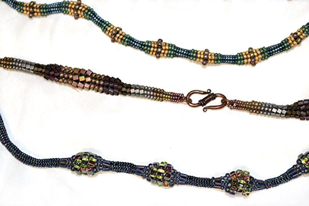 Tubular Herringbone Beaded Jewelry