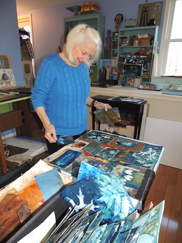 Lesley Riley's Studio