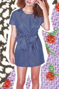 SEWSQAD packaging of the TShirt Dress