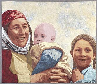 Turkeman Mother and Children