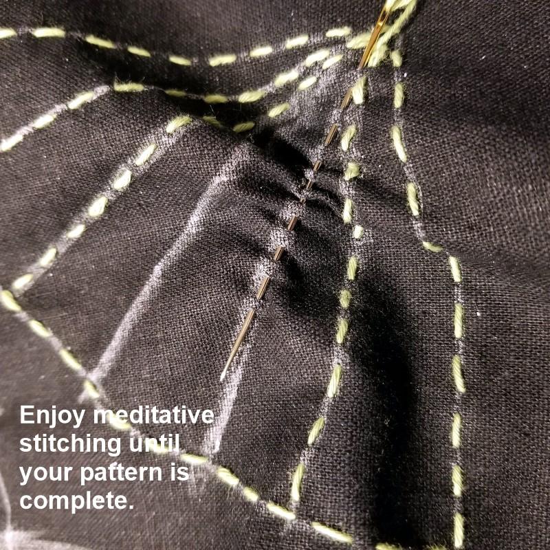Continue Sashiko Stitching
