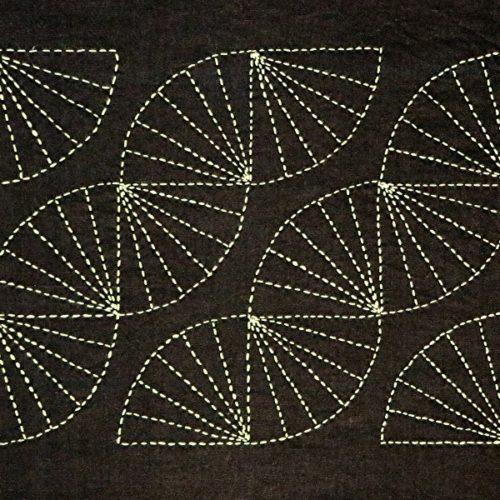Sashiko Stitching Complete
