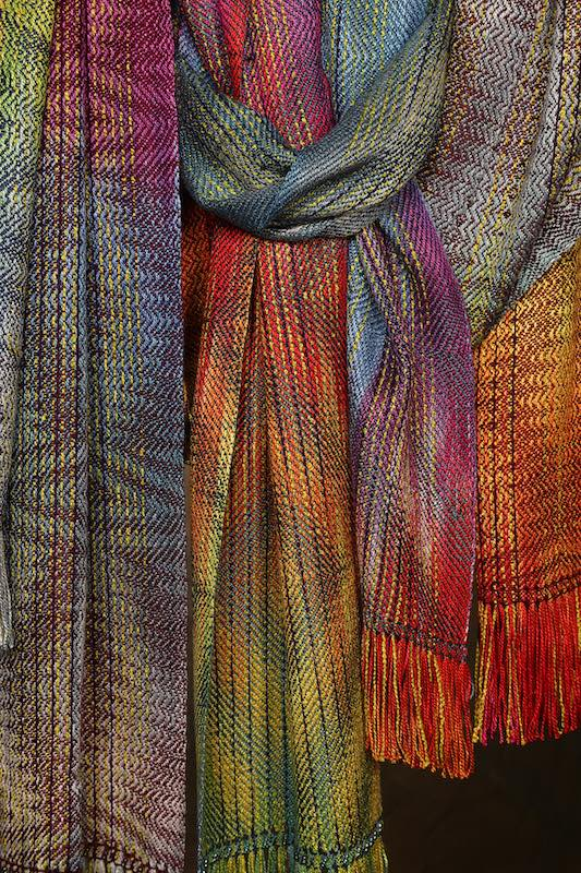 Aurora series, scarves