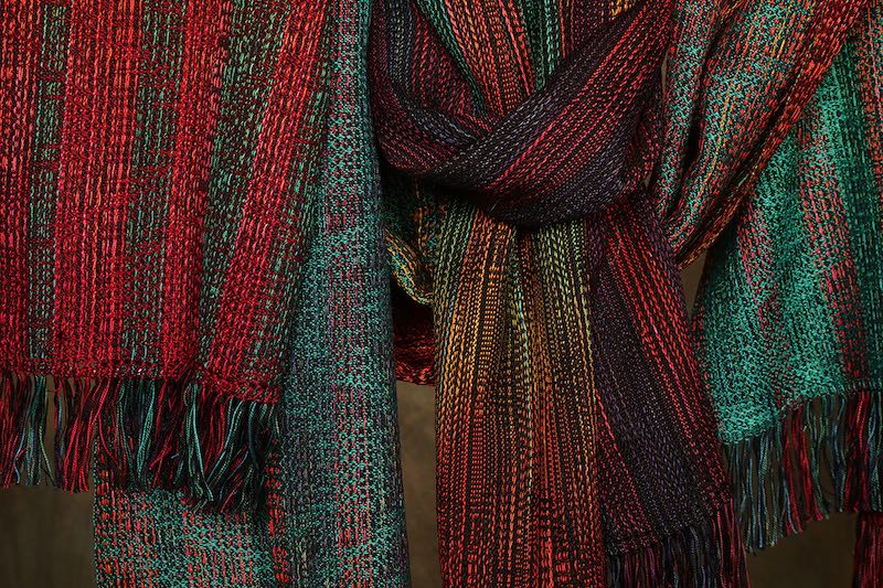 Transitions series, scarves