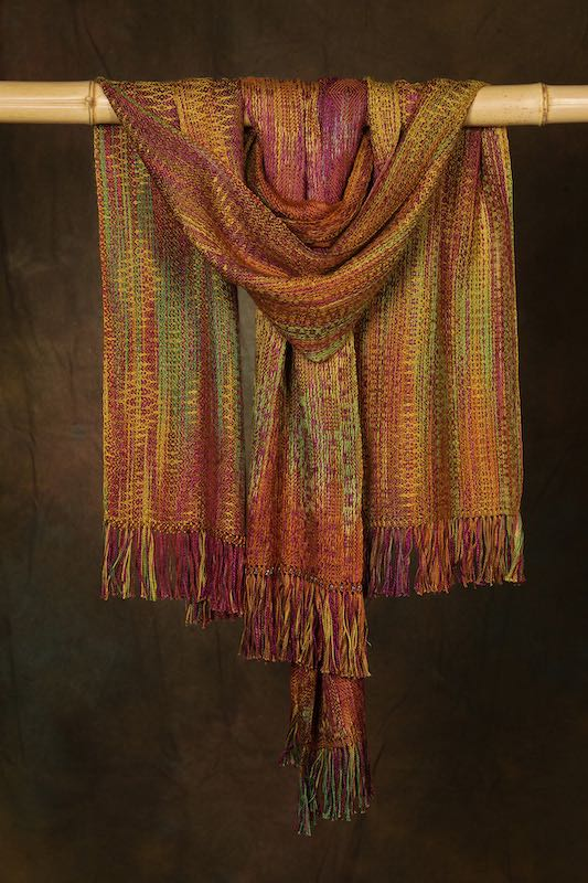 Autumn Splendor series, scarves