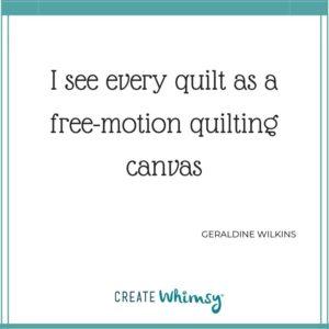 Geradline Wilkins Quote