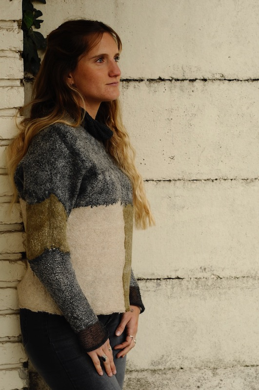 Sweater made by Micaela