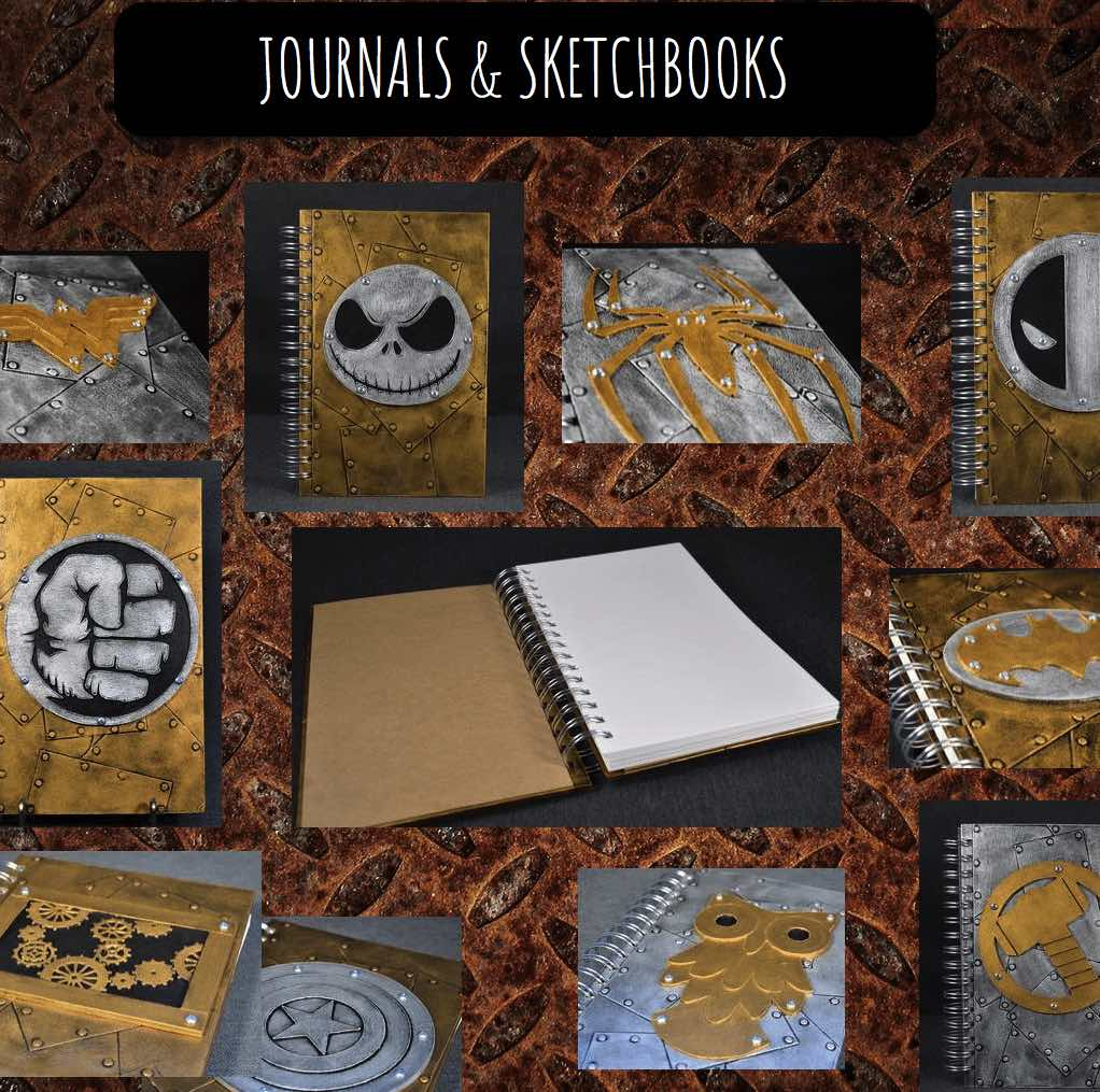 Troy Daniels journals and sketchbooks