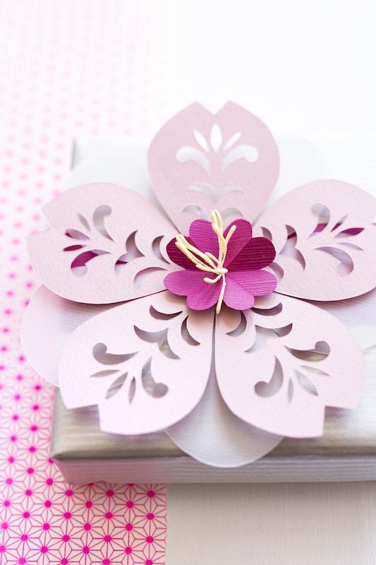 Flower Kirigami
