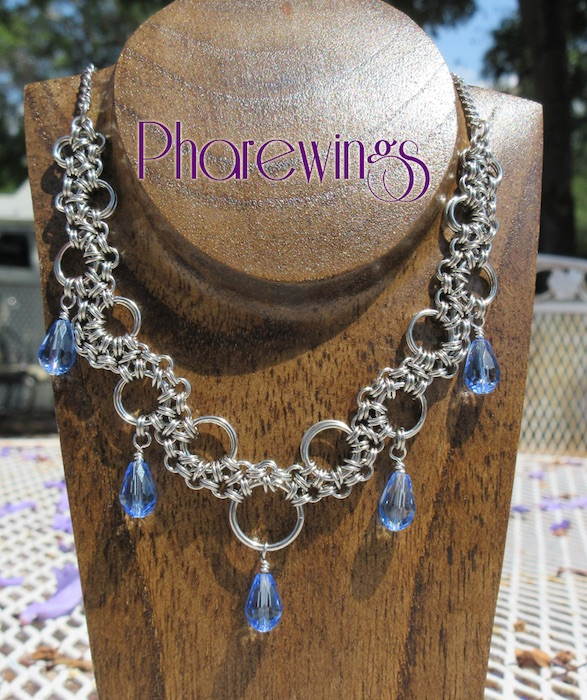 Pharewings Chain Maille Necklace