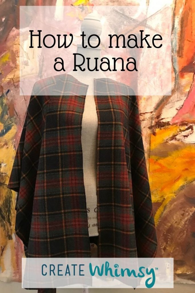 How to make a Ruana