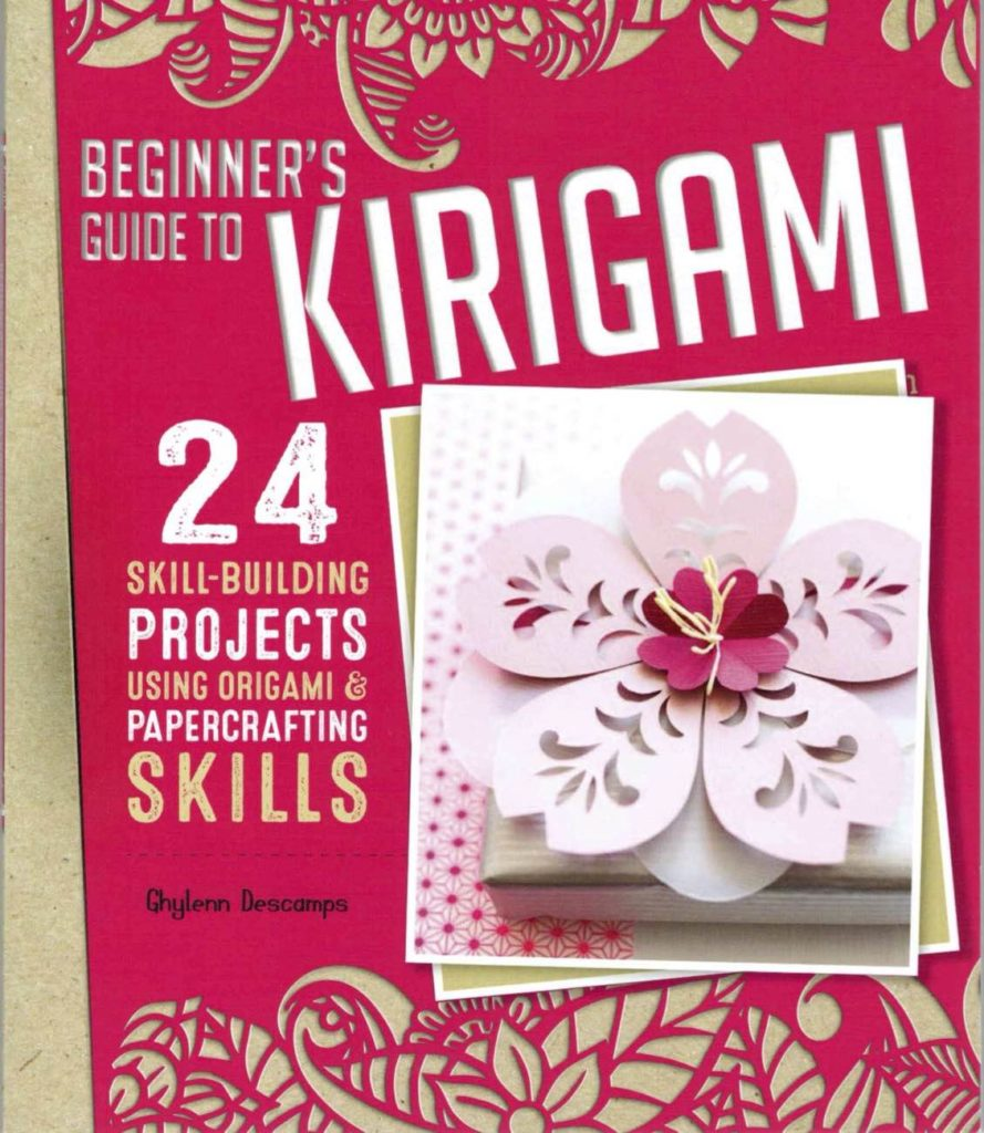 Kirigami book cover