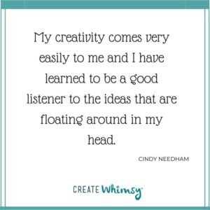 Cindy Needham Quote