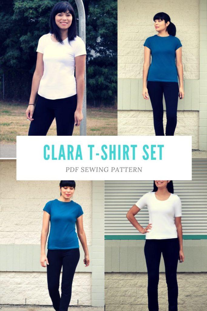 Clara T-shirt Set Pattern