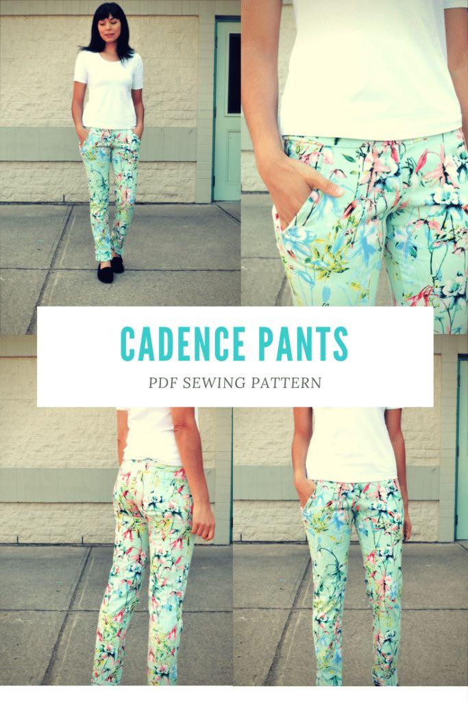 Cadence Pants Pattern