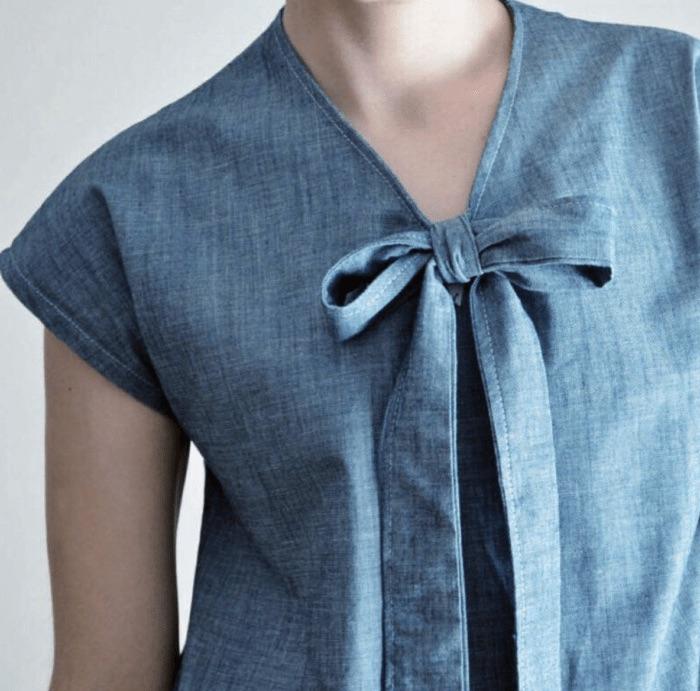 Necktie Top pattern