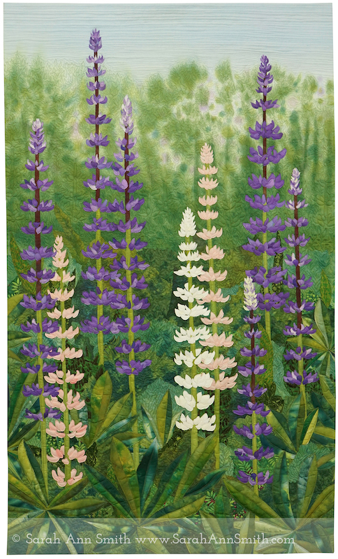 Lupines by Sarah Ann Smith