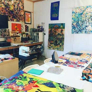 Susie's studio