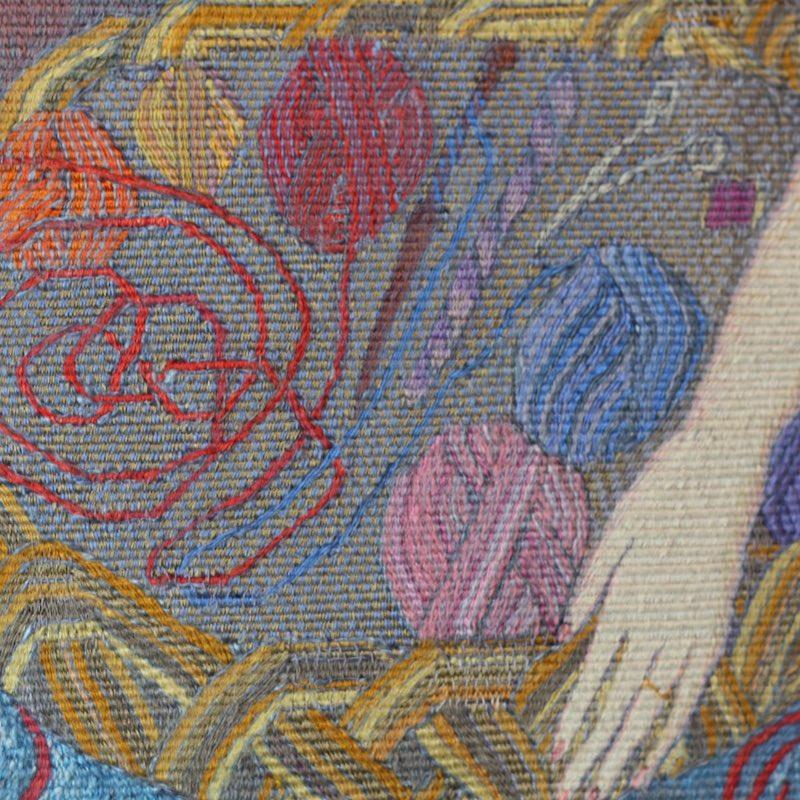 Yarn Basket taspestry