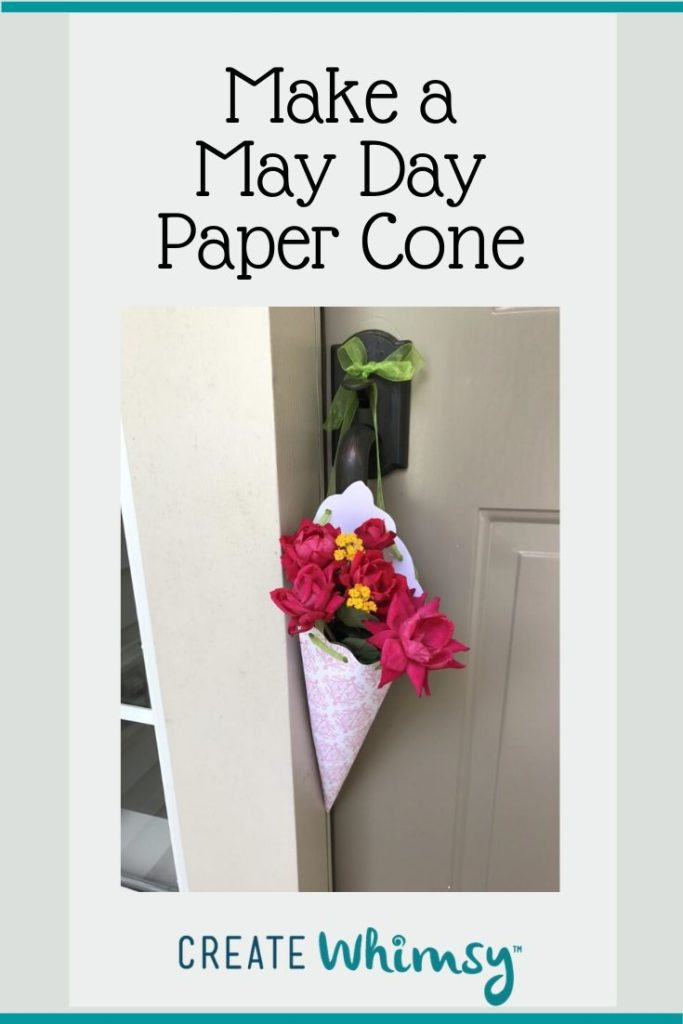 May Day Paper Cone