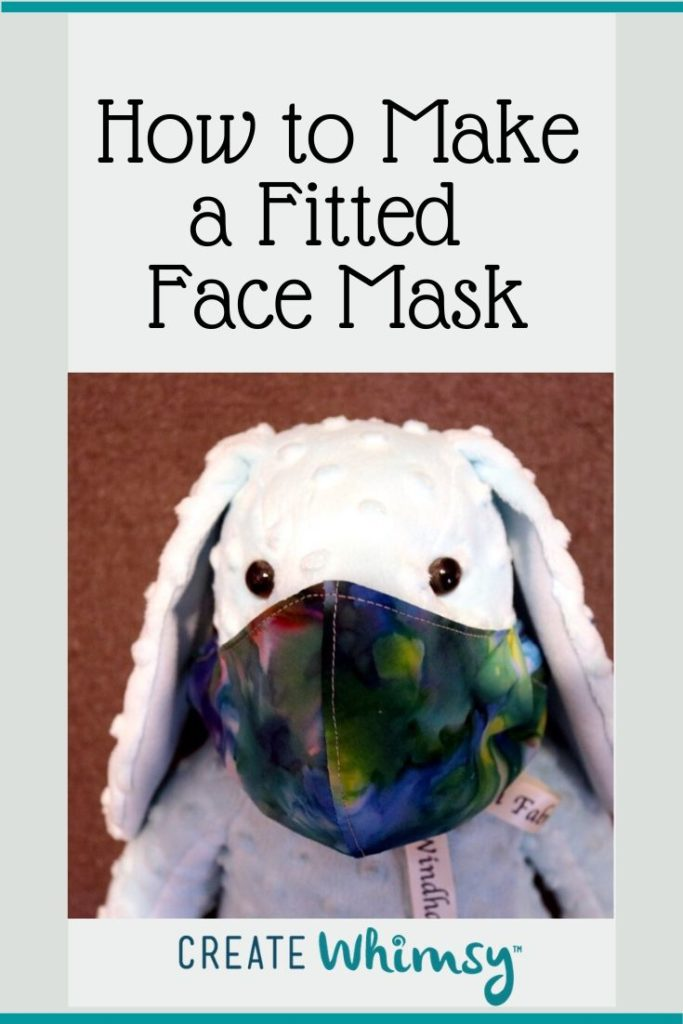 Pinterest Image Fitted Face Mask 1