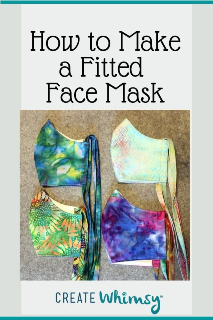 Pinterest Image Fitted Face Mask 2
