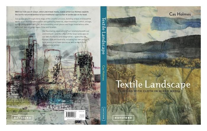 Cover of book Textile Landscape