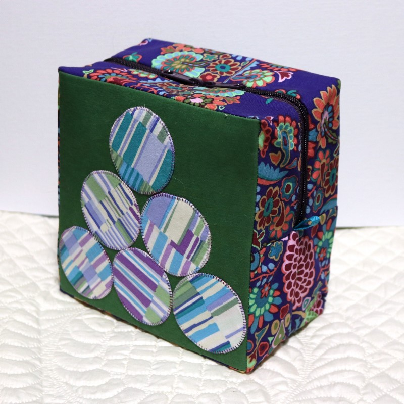 Boxy Sewing Case with Kraft-Tex Standing