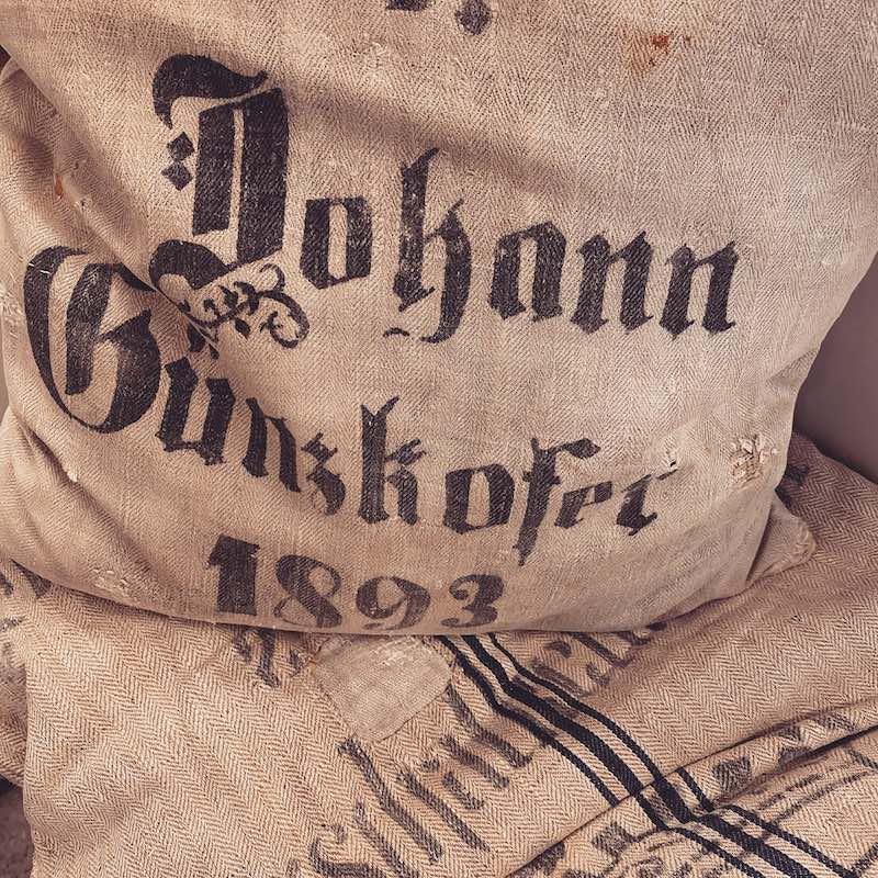 Old Flour Sack form 1893