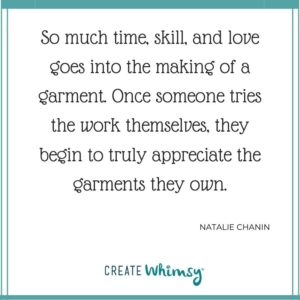 Natalie Chanin Quote