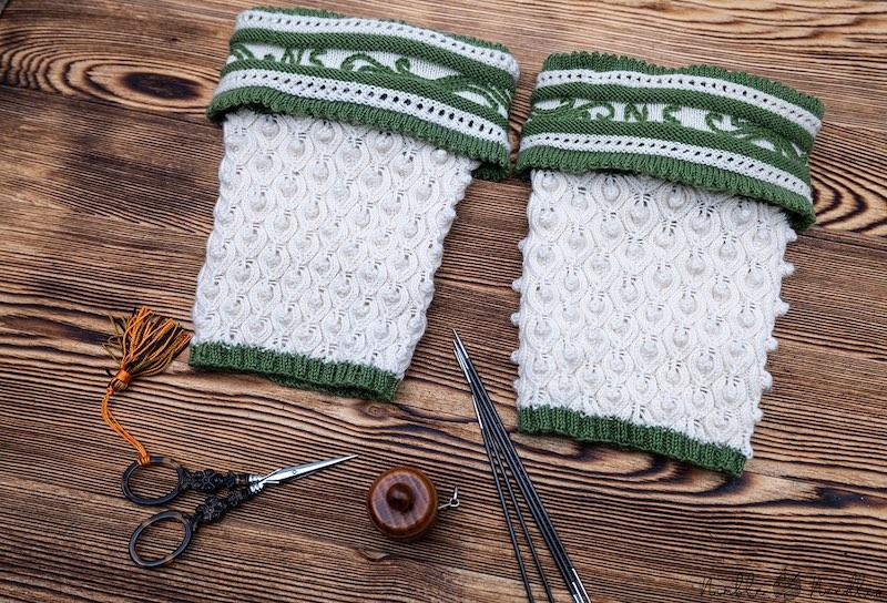 Traditional Bavarian Half Socks