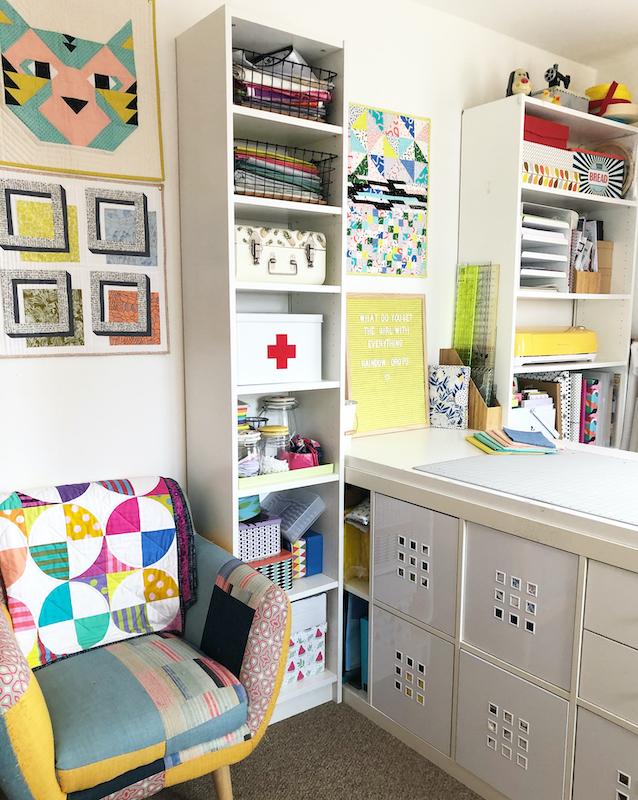Paula's sewing room