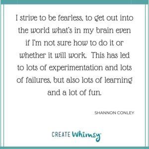 Shannon Conley Quote