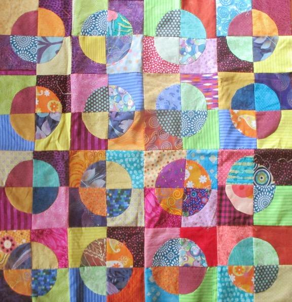 Bullseye Quilt by Barbara Brackman