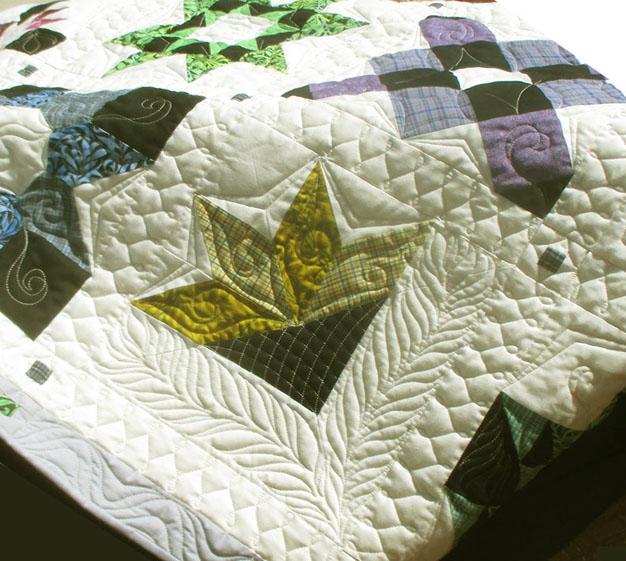 Quilt made by Dena G. Brannen