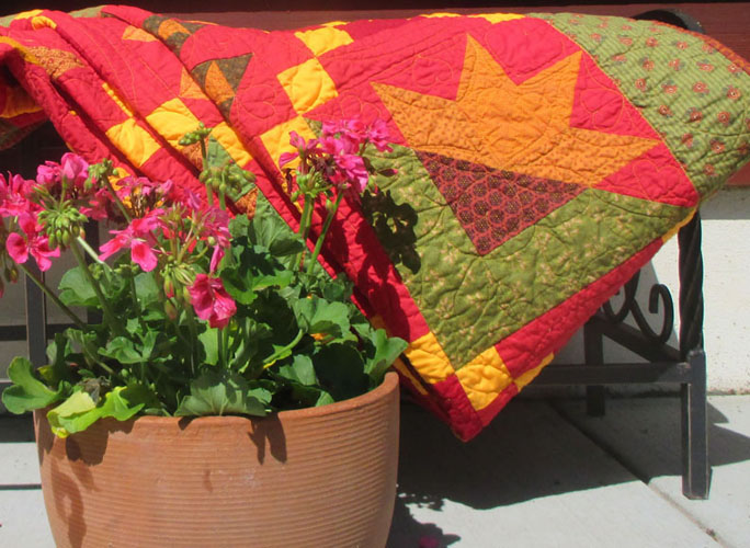 Quilt made by Meliss Henderson Swenson
