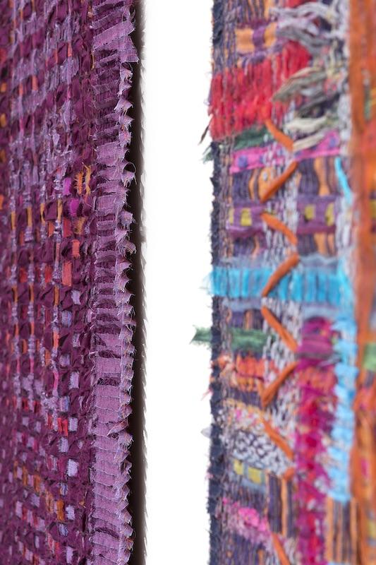 Close up of Jilli's work