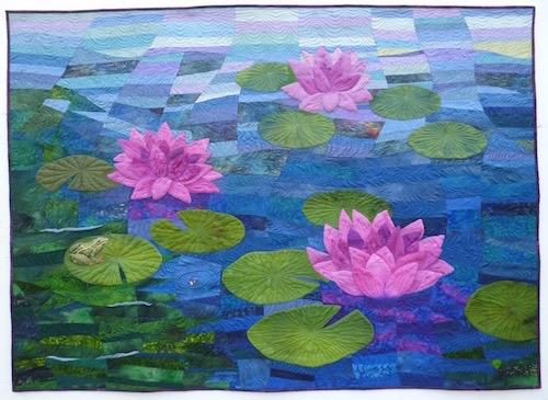 Lily Pond by Geraldine Warner