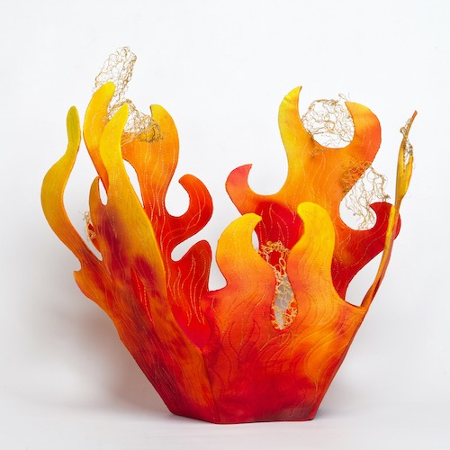 Ablaze by Geraldine Warner